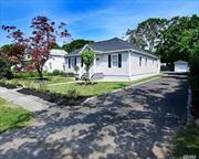 Move right in to this renovated Ranch style home w/ 3 bedrooms, 1 bath w/ new kitchen and bath. Refurbished wood floors, fresh paint, etc. Centrally located to all. Don't miss this opportunity!