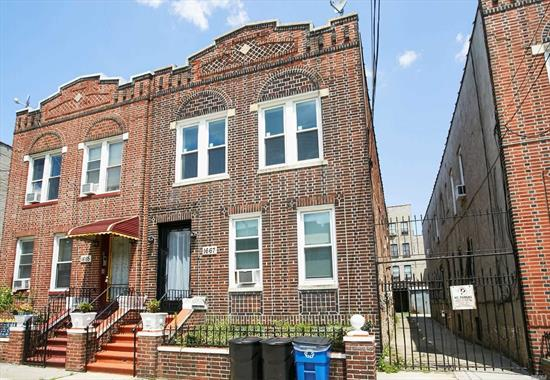 2 bedroom apartment In Crown Heights Totally Renovated, Everything Sparkling new. Parking space included Wi FI and Basic Cable also included. Wow this a must see make an appointment today.