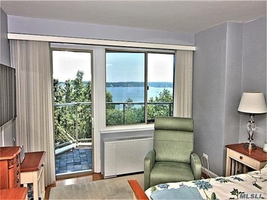 High End Custom Renovated Designer Apt.In A Luxury Bldg. 2 Bedrooms, 2 baths, Wood Floors, 2 Terraces W/ An Amazing Water View.Cac. Hunter Douglas Window treatments, Murphy Bed, 24 Hr.Doorman/Security. State Of Art Gym, .On Site Shopping Arcade W/ Restaurant/Deli/Grocery Store.Beauty Spa, Pool, Gym, Tennis, Party Room.Close To All Shopping & Transportation..Total Maintenance Including Taxes $ 1, 793.66    W/O Garage.