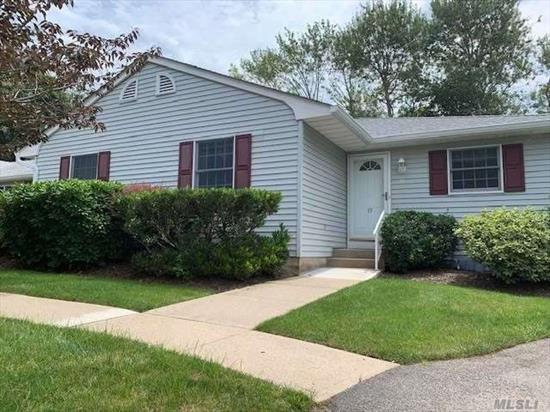 Trouble-Free Living In This Highly Desired End Unit With Attached Garage In Pheasant Run! Community Pool & Clubhouse. Close To Greenport Village, Shops, Beaches & Lots Of Restaurants!