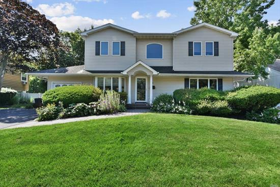 The One You've Been Waiting For! Gracious diamond home on spectacular deep property with room for pool! Huge EF, Custom EIK w/maple cabinets/granite, generous size Lr/blt in window seat, big mudroom with garage entry, main flr bedroom w/ensuite bath, den or poss 5th br, huge 2nd flr master suite w/custom marble vanity & 2 huge walk-in closets, 2 addl large bedrooms, 2nd floor laundry. Great closets t/o, gleaming hw flrs, generator, expansive deck & so much more. A home to fall in love with!