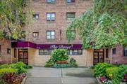 Updated Bright & Sunny One Bedroom Unit With Large Rooms and Many Closets. Freshly Painted, New Carpeting. New Kitchen with Stainless Steel Appliances, New Cabinets, Granite Countertops and Ceramic Floor. Bathroom with New Fixtures and Accessories. Ready to Move in. Low Maintenance that Include Gas, Electric, Heat, Hotwater and taxes as well as Common Areas and Grounds Upkeep. Well Maintained Handicap Accessible Development. Laundry Room on Site. Close to Stores and Public Transportation.