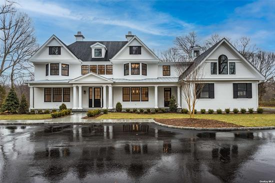 OWNER/BUILDER WILL OPEN AND SHOW with Covid 19 Restrictions!! High End New Construction, Currently Being Built, Due To Be Completed By November 2020. Luxury Construction With Quality Craftsmanship And The Finest Architectural Appointments Throughout. Extensive Detail And Upscale Materials, With A Fresh Clean Style And Sophisticated Finishes Incorporated Into This 5 Bedroom Residence. Great Opportunity With Time To Customize Your Own Personal Choice Of Finishes. Magnificent Private Setting On Over 2.7 acres. Desirable Location And Easy Commute To NYC. Syosset Train, Cold Spring Harbor SD2.