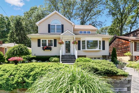 Beautiful 5 Bedroom 3 Bath Colonial, features Living Rm w/vaulted ceiling, countryEat-in-kitchen w/fireplace, Updated home, kitchen, diverse floor plan, 2 Master Bedrooms, Huge Family Rm on second floor or additional bedroom, Finished Basement, young roof, and siding, CAC