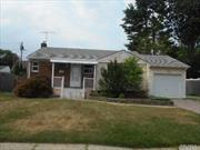 Three Bedroom Ranch, Updated Kitchen And Bath, Central Air,  Basement And Garage, Ready for Occupancy