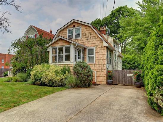 Welcome to this charming 2 bedroom Colonial nestled in the heart of RVC Village. Home features a cozy living room with fireplace, formal dining room, large eat in kitchen with stainless steel appliances and a full bath. Potential for additional 3rd bedroom on 1st floor. 2nd floor features 2 bedrooms. Home also has a full finished basement. Close to shops, restaurants, schools, worship, and public transportation.