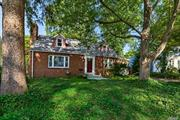 Amazing opportunity to be in this solid brick, dormered, 4 br 2 bth Cape, in mid block location with great potential. Private back yard and wonderful space! This one won't last!