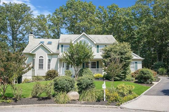 Spectacular Victorian At The End Of A Cul-De-Sac, Property is 3/4s of the Cul-De Sac, Many Upgrades, Crown Molding, Eik With New Stainless Appl and Granite Counter-top, Living room W/ wood burning Fireplace, Bonus room, Master Suite With Jacuzzi , CAC, New 4 Zone Boiler, 2 Car garage, Sliders, Professional landscaping w In ground sprinklers and private wooded back yard w/New Hot Tub, New Washer and Dryer Seller is willing to work with sellers concessions ask for details! Accessory Unit Potential