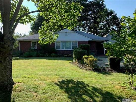 Great 3 Bedroom, Master With Bath Plus Full Bath, Eat In Kitchen, L- Shaped Living Room And Dining. 1/2 Basement. Garage Is Used By Owner