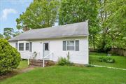 Large 4 Bedroom Cape with 2 Full Baths on 100 x 100 Lot. Full Basement. Very Large Rooms. Eat In Kitchen. Lots of potential!