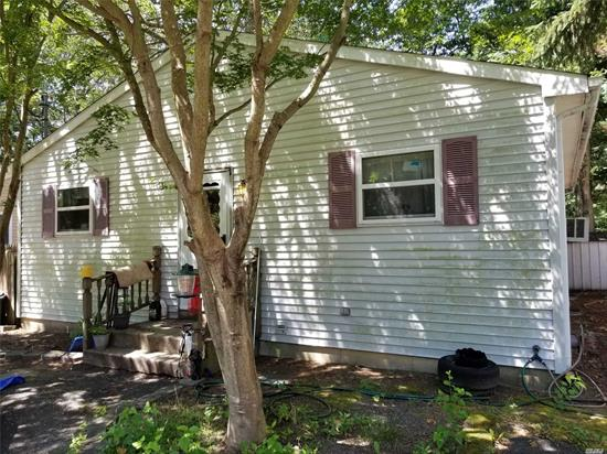 tremendous opportunity for first time homebuyer or investor.  very well built original ranch just a short walk from lake panamoka. 3br 2 fulll baths (including a master bath) with a full unfinished basement = tremendous potential!! don't let this one get away!