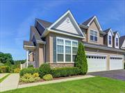 Enjoy your retirement years in this spectacular home boasting exceptioal Vistas of Pond, Fountains and Golf Course. Most desirable location within most prestigious Meadowbrook Pointe 55+ community. This Fairmont model has the bonus of a walk-out basement with a second patio. The main floors consist of spacious and finely detailed rooms with added mouldings, granite and luxury baths. An extra long driveway fits 6-8 cars! A unique and unsurpassable find!1 Won't Last!