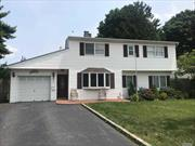 5 Bedroom 2 Bath Colonial In Hicksville. Living Room, Formal Dining Rm, Office, Laundry, Eat-In Kitchen, In Ground Pool