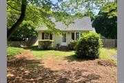 Cozy Updated 2 Bedroom, 1 Bathroom Cottage With Eat In Kitchen And Living room. Freshly painted and new carpet. Fenced Yard And Deck Off Back Of House. Home Is On Spacious Lot. Ground Care Provided Does Not Include Snow Removal. No Pets. No Smoking.