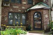 Great Opportunity: Charming 1-family Tudor in prime Rego Park. Features abundant character and lots of natural sunlight. Upgraded kitchen and bathroom. Nice private backyard and garage. Close to Queens Center Mall, and restaurants. Convenient to transportation, G/R subways -20-minutes to Manhattan.