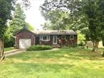 New To Market !!! 3 BR Ranch located on Great block in Sayville School District. Features Full Basement, Garage, Gas Heat, Wood Floors, Den with beautiful woodwork and fireplace, IGS,  Nice size property.