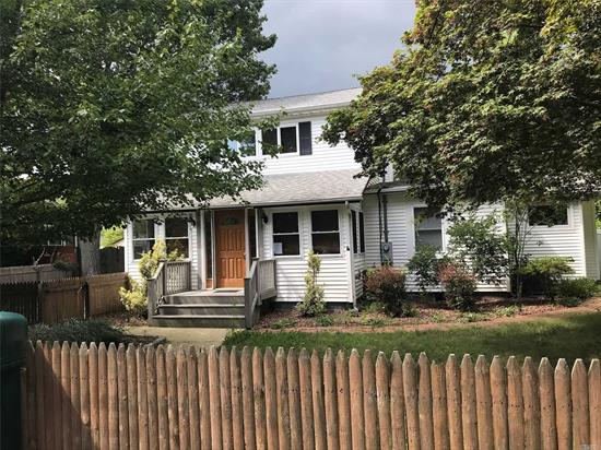 Newly Renovated, 4 Bdrm, 2 Bth, Eik, Lvng Rm, Bsmnt, two 330Gal oil tanks, ig sprinklers, LED Lights, Central air, Brand New Furnace, Hard Wood Floors through out, 200 amp service, New Granite Counter top in Kitchen, Stainless Steel Appliances, Separate 1 car garage, fenced in yard, close to beaches and shopping. Comes with a bonus adjourning lot 100x100 on Elder Dr. Taxes on separate lot are only $846 per year. Total adjourning lot size is 100x160!!!