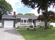 Great Curb Appeal. Beautifully Redone Inside & Out! Room For The Extended Family! Eik W/Granite & Deco Tile Bcksplsh. Lr W/HwFlrs, Fieldstone Fpl, & Bay Wndw. Main Bth W/Corian Vanity & Subway Tile. Mbr W/Priv Bath. Beautifully Done 2Yr Old Finished Bsmt W/Full Bth, Wic, Pantry, Ose - Great For Guest Qtrs. Lg Backyard W/Extensive Decking & Walkways. 2 Yr Old AG Pool. PVC Fencing. Front Porch. New Roof/Siding/Burner. Updated Wndws. 1 Car Gar & Lg Driveway. Gar & Bsmt Have Washer/Dryer Hookups.