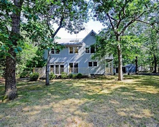 Colonial Style Home. This Home Features 3 Bedrooms, 2.5 Baths, Dining Area, Eat In Kitchen. Centrally Located To All. Don't Miss This Opportunity!