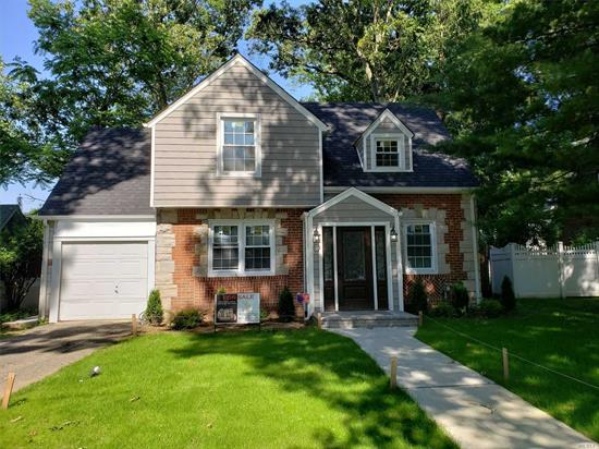 Completely renovated brick Colonial located in the most desirable section of Freeport Sterns Park. Baldwin schools and only $10, 659.51 in taxes with the star program make this a must see. This beautiful home sits on a double wide tree lined block with a 55 X 117 lot.  With 1, 665 of interior square footage the home consists of 4 Bedrooms, 3 full baths, full finished basement with outside entrance, central AC & a wood burning fireplace covered with beautiful stacked stone.  This is a must see