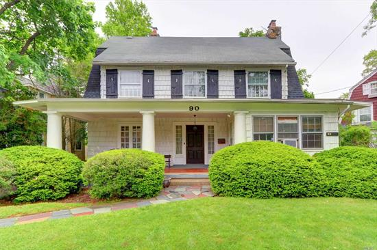 Great Location! Stately Center Hall Colonial With Old World Charm In Desirable Old Woodmere, 3 Wood Fireplaces, Custom Moldings & Ionic Columns, Xlg Master Bedroom W/Fpl and Lg. Mstr Bth, Plenty of Potential, SD #14, Low Taxes! Don't Miss Out On The Opportunity To Turn This Colonial Style House Into Your Custom Designed Home!