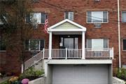 Enjoy the conveniences of a village lifestyle in this beautifully updated, impeccable 1 bedroom condo with 1 car parking in garage at the front of apartment. Gas heat and water included. Washer & dryer in unit. Access to shopping, dining, Williston Park pool,  highways, bus and LIRR. Herricks Schools.