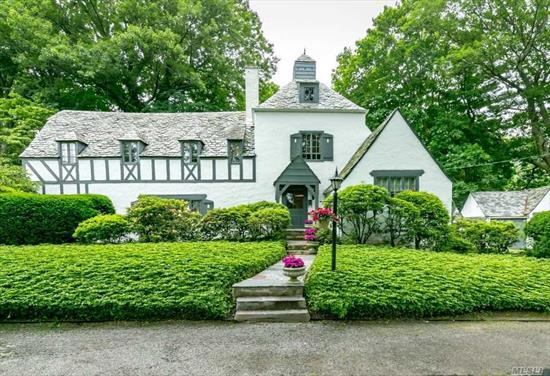 Thomaston Fairy Tale Tudor. Gorgeous Curb Appeal. Country Setting. Wonderful Architectural Detail. Hardwood Floors. Saddle Rock Elementary. Option Schools. There Is An Addition Strip Of Land (.04) On The Side.Within Close Proximity To Town, Shopping, Library, Parks & Lirr.