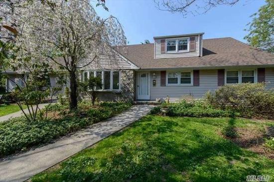 Entire first floor of spacious home. Features 3 Brs, 2 Full Baths, LR w/Fpl, DR, EIK, Off Street Parking and use of Rear Yard.