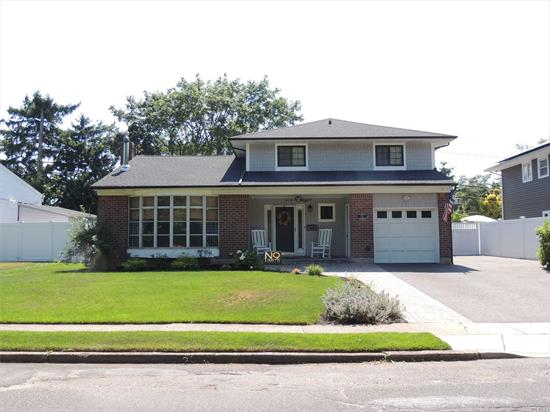 FORGET THE STAR & THE ENQUIRER BECAUSE WE HAVE THE LATEST GOSSIP...THE ONLY AVALON SPLIT IN HOLIDAY PARK ON THE MARKET RIGHT NOW...MINT 4 BEDROOM..2 BATH..NEW ROOF/SIDING/CAC/200 AMP ELEC W/PORTABLE GENERATOR TRANSFER SWITCH../BOILER/HOT WATER HTR..SPACIOUS AND BRIGHT LIVING RM..NEW FULL BATH W/RADIANT FLOOR..NEW GRANITE EAT-IN-KITCHEN WITH CUSTOM MILLWORK..FAMILY RM..MASTER BR W/WIC..LAUNDRY UPSTAIRS..NEW GARAGE DR..PAVERS & DRIVEWAY..LOW TAXES..THIS ONE WILL BE YOUR LAST STOP ON THE TOUR...
