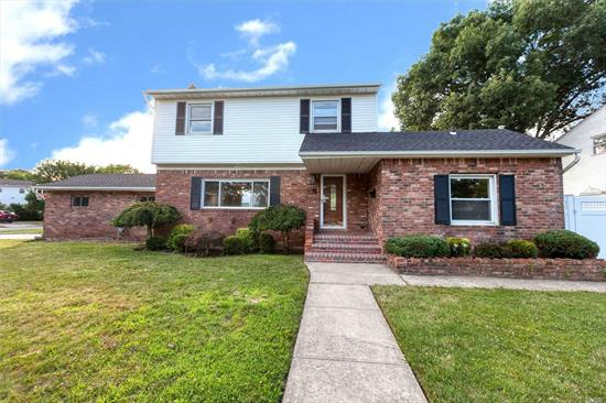 This beautiful Colonial home features 4 bedrooms, 2 full baths, formal dining room, eat-in kitchen, gleaming hardwood floors, den w/ sliders to yard w/ pavers & 18 x 36 inground pool, PVC fenced yard, finished basement, 1.5 car garage, updated Navien Combi boiler, gas heat, 200 amp electric, brand new architectural roof. A must see