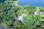 This Circa 1800'S Estate Nestled On 3.64 Acres Boasts Gorgeous Waterviews Featuring A Gated Entrance With 6 Bdrms Including 2 Master Suites, 5.5 Bths, 4 Fpls, Beautiful Kitchen W/Stainless Appls, Banquet Dining Rm, Wood Floors, 3 Car Garage, Ig Pool, Guest Cottage, Observation, ***Waterfront Acre On Conscience Bay W/Beach Cottage & Dock As Gifts.