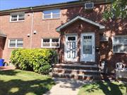 This Unit Includes the Indoor Garage... Low Maintenance Includes Heat....Plenty of Free Parking in The Rear of The Building. Walk to Shopping, Park..Easy Access to Major Highways. Bus Q17/Q30, /Q31/Q88...School Dist. #26, Walk To PS.173/JH.216/Francis Lewis HS. Apartment Needs Work.