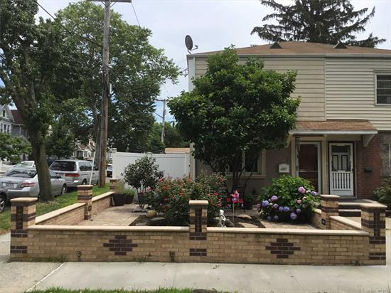 One family corner property in mint condition! Hardwood floors throughout, stainless steel appliances, granite countertops, newly done front patio and brickwork , a beautiful backyard with above ground pool and beautiful vegetable garden! Too much to list! Must see!