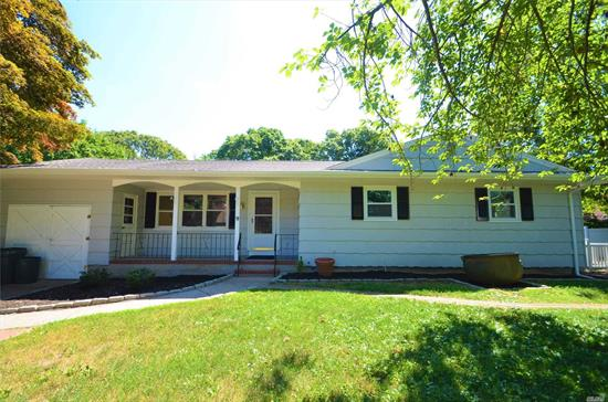 Charming and Unique Ranch with 3 bedrooms, 3 Bath, with an additional legal 1Br, 1Ba apartment completely renovated. Great mother/daughter or rent it out. New Roof, Siding, Doors, Windows, AC. Completely renovated bathrooms, solid hardwood floors thoughout. THe Appartment has been completely renovated, and has its own washer/dryer. House is on a quite cul-de-sac, close to all.