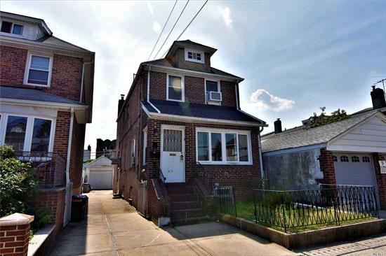Lovely, Cozy Junior-4 Apt (1-2 Brs) In Bayside Private House. Updated Kitchen and Bath. Lots Of Lights. Hardwood Floor Throughout. Heat Included! Nice Back Yard Included Too! Walk To Lirr Auburndale Station. Close To Q28, Q76, Q16. Prime Location. Close To All!