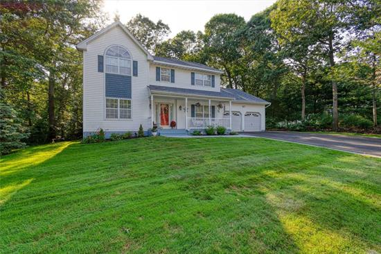 Young 4 bd, 2.5 bath Colonial boasting Formal LR, Formal DR, Updated EIK w/Granite & Stainless Appliances, Fam Room w/Fireplace, 5th Bedroom/Office, 9' ceilings, Hardwood Floors, Master Suite w/Sunken Tub, Vaulted Ceiling & WIC, Full basement w/outside entrance & 9' ceilings, New CAC & HW Heater 4 yrs ago, New Paver Walk & Oversized driveway in 2019 & 2 car att gar. All this & more set in the Springbriar development w/underground utilities, lg fenced yd, .53 acre, naturally landscaped lot w/room for a pool