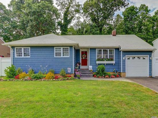TAXES WERE GRIEVED/APPROVED FOR 23% REDUCTION WHICH GOES INTO EFFECT 10/1/19. Charming 3 BR ranch with New Bathroom, siding, driveway, hot water heater, most windows updated with Andersons, New siding, beautiful hardwood floors and so much more! 150 amp service 1 car garage w/garage opener. Private yard that backs the preserve. Come visit, you won't be disappointed! SD #23 in the Incorporated Village of Mass Park.