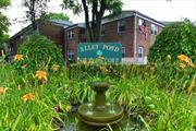 Spacious & Sun-Drenched Updated 1 Bedroom Garden Apartment In The Sought After Alley Pond Development Featuring Large Living Room, Dining Room, Updated Kitchen and Bath, Laundry/Bosch Washer & Dryer, Plenty of Closets. Newly Painted And Refinished Hardwood Floors. Convenient to Shopping, Restaurants & Highways. Walking Distance to Express Bus To Manhattan. Heat, Water & Taxes Included In The Maintenance. No Flip Tax. Pets Allowed.