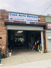 Don't miss this Opportunity , Business and Property for Sale. 1000 Sq Ft.of Workshop, plus Rare Yard of 1000 Sq ft. Equipped with Lift, Compressor, Toilet, and up to City Codes with Water/Oil- Interceptor etc.