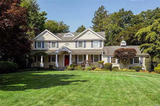 True Center Hall Colonial! Stunning! Come and Fall in Love with this Property!