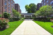 Spacious bright Jr4(converted to 2 Br) apt at the Balfour, Hardwood Floor, Renovated Kitchen and Bathroom (all with the windows), Walk-in Closets, 24 hr Doorman, Gym, Laundry, Garage(waiting lists), Pet Friendly, Steps to Subway(E&F), Restaurants and Shopping... ***MUST See***