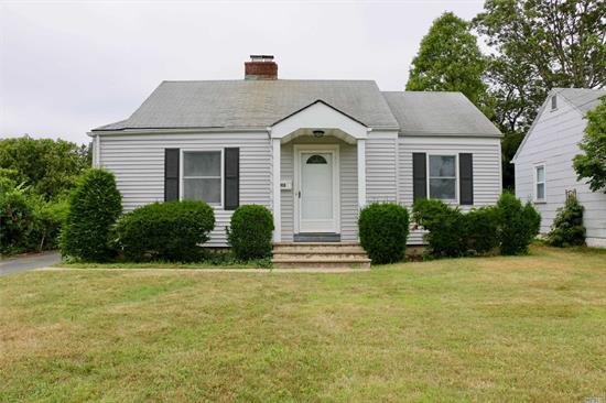 Huge Price Reduction! Why rent when you can own?  Sunny & Bright Newly Renovated Home. New Kitchen with SS Appliances, New Bath, Low Taxes, Low Maintenance Home. Lovely Yard, Great Location in Northport School District.