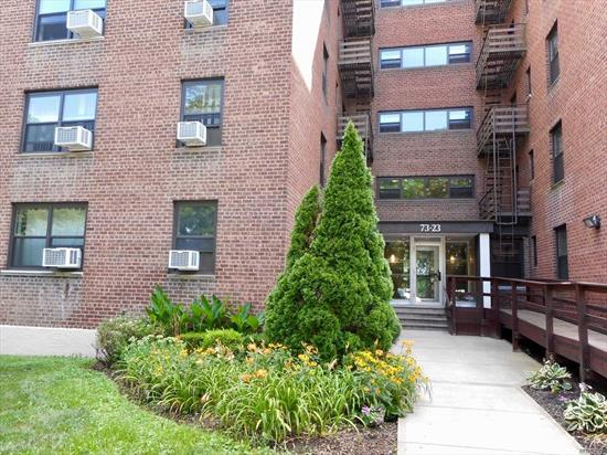 New listing in Windsorpark! Huge 2 bedrooms unit around 950 sqft. Gorgeous Brand New kitchen and New bathroom! 3 New AC, New windows. Large living room and 2 good size bedrooms.Very low monthly maintenance only $689 including All except electricity. The Coop feature Olympic pool and a New gym. Zone for top schools, PS 205 and MS 74 ! Express bus and local bus just around the corner ! Private parking available. Don't miss it, call or text today to see it!