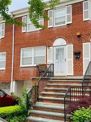 Just Arrived-Affordable Three Bedroom Townhouse Condo In Douglaston. This Spacious Condo Is Located On A Quite Cul De Sac Road With Close Proximity To Shopping, Transportation- Easy Access To Major Highways. New Roof,  A/C unit, new stoops new plumbing, newer windows, community Pool, snow removal. Pets allowed.