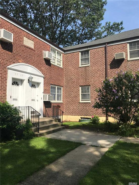 Sunny & Very Bright , Well maintained 1Br , Lower Unit ,  Private & Court yard , Updated Kit & Bth. Carpet. Large Br. Maintenace fee included all utilities, 2 parking stickers. Convenient to all. All offer should include pre -approval, proof of funds, 2 yrs tax return , Full credit report. Furniture sale also ! Mint Condition !!!