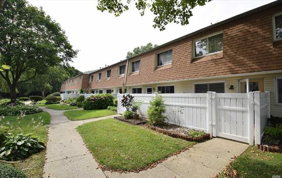 Large & Spacious, Renovated Waverly Park Condo - Town House Style (2 Floors), End Unit, Conveniently Located Across From The Pool & The Playground. First Floor Features; Large Living Room/Dining Area, Updated Eat-In-Kitchen, Washer/Dryer. 2nd Floor Features; Master Bedroom With Walk In Closet & Additional Closet, 2nd Bedroom and A Full Bath. Pergo Wood Floors Throughout, Central Air, Alarm System. Patio, Pool, & Playground. A Great Community!