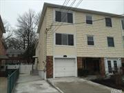 Brand New Large triplex.W/Garage Near Bay Terrace Shopping Center Area of Bayside. Apt. newly renovated. 3 Levels Living Space Over 1800 SF.Hard wood floors throughout 3 Br2, 5 Baths , Office. Easy Access To All Transportation Lirr To Penn Express Bus To Manhattan.Fenced Back Yard .Great location.Walk To Fort Totten Park by the Water.