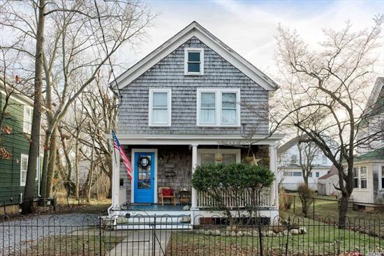 Look No Further! Adorable 4 Bedroom Summer Rental In Historic Greenport Village. Easily Access All The Amenities That Village Life Has To Offer, Restaurants, Shops, Beaches, Wineries, Museums, And More!