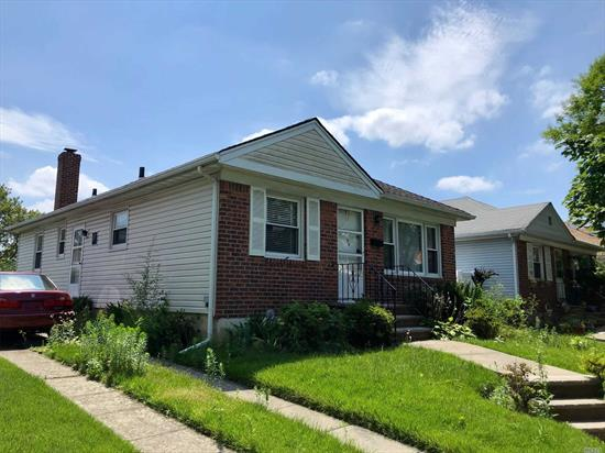 Diamond in the rough! 3 Bedroom ranch, newer roof, private driveway, gas heat, hardwood floors, make this your next home.