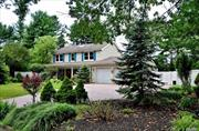 Wonderful 4 Bedrm, 2 1/2 Bth Center Hall Colonial on a Quiet Cul-De-Sac in Beautiful Strathmore Section. Spacious Rooms Throughout, Updated EIK w/SS/Quartz, Fml DR, LR w/Fireplace, Laundry Rm, Hardwood floors, Master w/Ensuite, 3 Addl Large Bedrms, CAC, Entertainers Backyd with Inground Pool/Pavers, Anderson Windows, 200 Amp, Low Taxes, To Much to List in the Beautiful S Section of Three Village School District... A Must See...